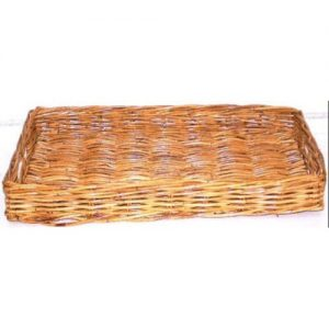 Extra Large Rattan Tray