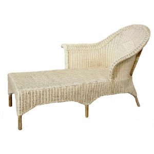 Venice Wicker Chaise Lounge