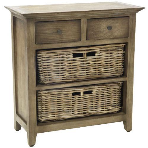 Vintage Shelving 2 drawer