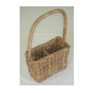 Wine Carrier Basket - Wicker