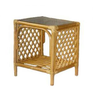 Emperor Cane Side Table