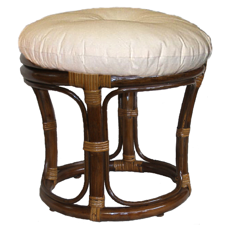 Footstool, Walnut