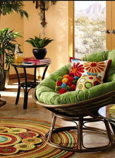 Cushions for Papasan Chairs and Papasan Settees
