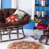 Papasan Chairs & Settees