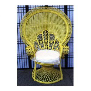 Peacock Morticia Chair, Pink Peel
