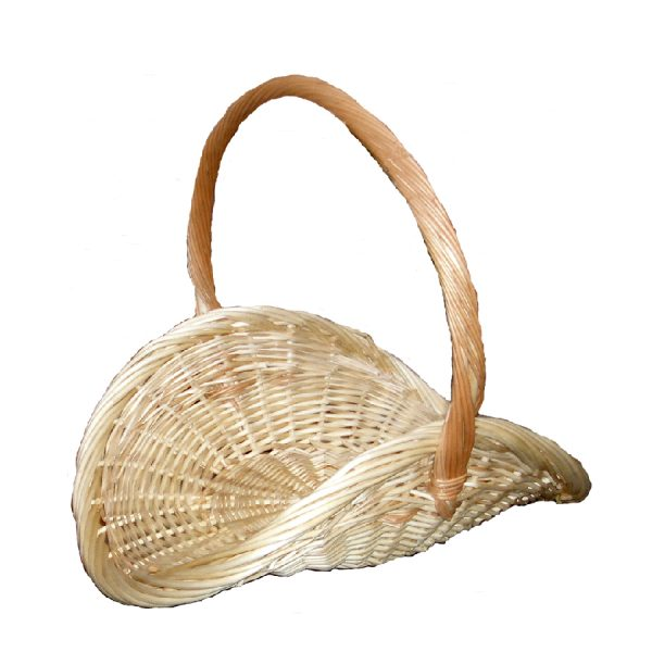 Floral Basket, Willow, Small