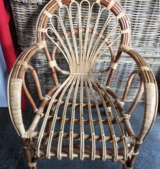 Sole Cane Chair