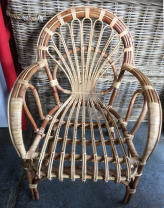 Sole Cane Chair
