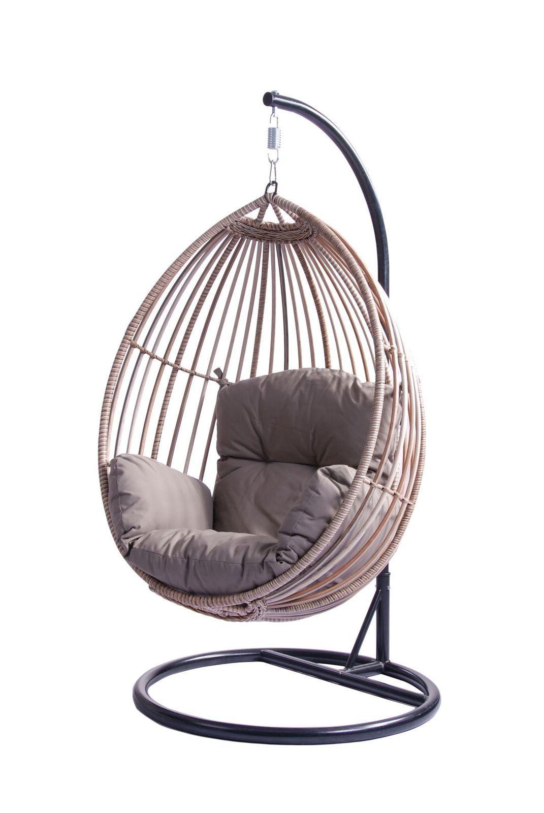 Koala Hanging Egg Chair - Natural Look - Cobra Cane